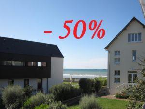 Gîtes en Normandie » Third night at -50%